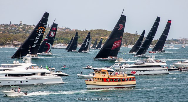 Sydney to Hobart race 2019